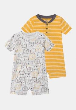 Carter's - LION 2 PACK - Combinaison - grey/yellow