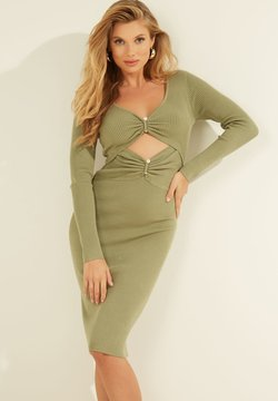 Guess - Vestido de punto - groen