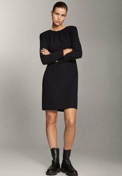 Massimo Dutti - Sukienka letnia - black