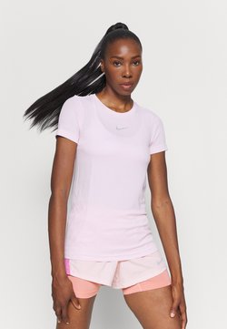 Nike Performance - INFINITE - Camiseta estampada - pink foam/reflective silver