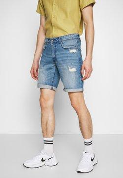 Redefined Rebel - DESTROY  - Shorts vaqueros - soft blue