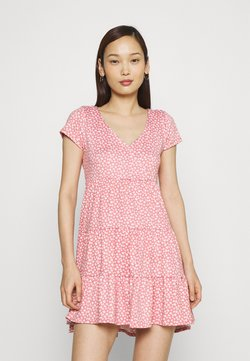 Hollister Co. - DRESS - Jersey dress - canyon rose