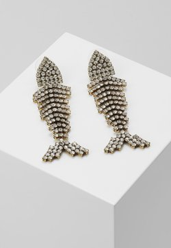 J.CREW - BONEFISH PAVE EARRINGS - Örhänge - silver-coloured