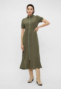 YAS - YASBIRA - Vestido camisero - military olive