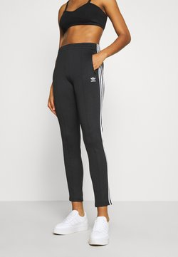adidas Originals - PANTS - Jogginghose - black/white