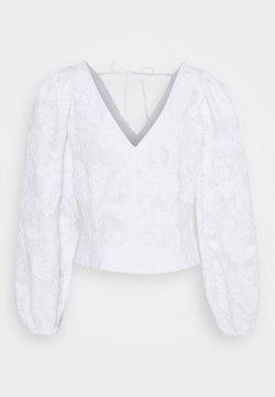 Samsøe Samsøe - ANAI BLOUSE - Pusero - bright white