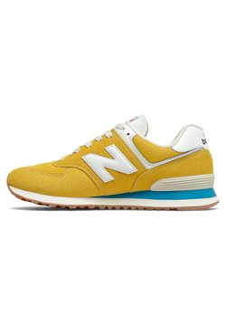 New Balance - 574 - Matalavartiset tennarit - varsity gold