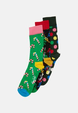 Happy Socks - HOLIDAY SOCKS GIFT 3 PACK - Socken - multicoloured