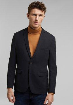 Esprit Collection - STRUCTURED - Sakko - dark blue