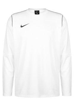 Nike Performance - PARK 20 DRY CREW HERREN - Pitkähihainen paita - white / black