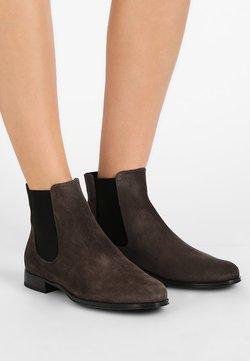 Pretty Ballerinas - CROSTINA - Boots à talons - dark grey