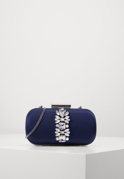 Forever New - ELIZABETH JEWELLED HARDCASE - Kuvertväska - navy