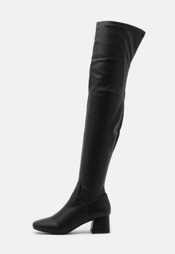 Rubi Shoes by Cotton On - JOLIE SOCK BOOT - Overknee laarzen - black