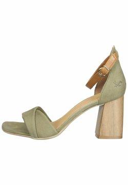 Sansibar Shoes - Sandales - olivegrün