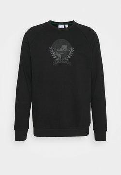 adidas Originals - COLLEGIATE CREST - Sweatshirt - black