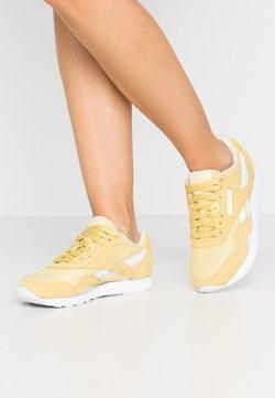 Reebok Classic - CLASSIC - Sneakers - yellow/white