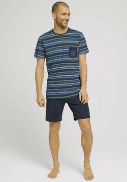 TOM TAILOR - Pyjama - blue-dark-allover