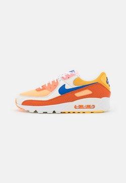 Nike Sportswear - AIR MAX 90 - Sneakers laag - campfire orange/racer blue/sail/laser orange/citron pulse/peach cream