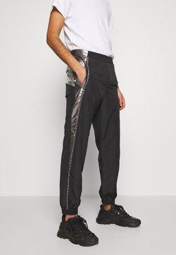 Just Cavalli - PANTS - Jogginghose - black/silver