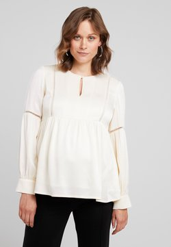 IVY & OAK Maternity - TUNIC BLOUSE - Blouse - white