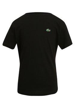Lacoste Sport - LOGO UNISEX - T-Shirt basic - black