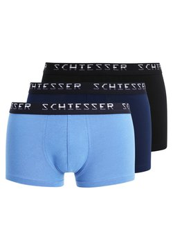 Schiesser - HIP-SHORTS 3 PACK - Shorty - dark blue