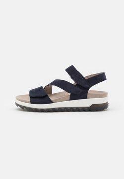 Gabor Comfort - Plateausandalette - blue