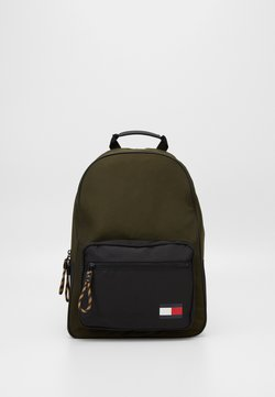 Tommy Hilfiger - BACKPACK - Reppu - green