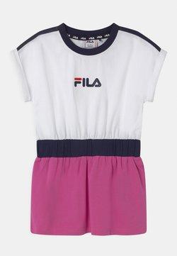 Fila - FILIO - Jerseyjurk - bright white/super pink/black iris