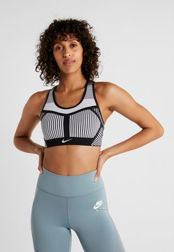 Nike Performance - FLYKNIT BRA - Sports bra - black/pure platinum