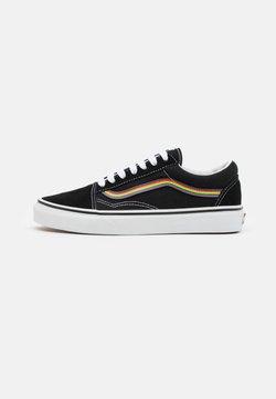 Vans - OLD SKOOL PRIDE UNISEX  - Sneakersy niskie - black/multicolor/true white