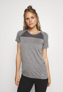 Icebreaker - MOTION SEAMLESS CREWE - T-Shirt basic - grey