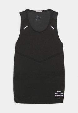 Nike Performance - RISE TANK - Linne - black