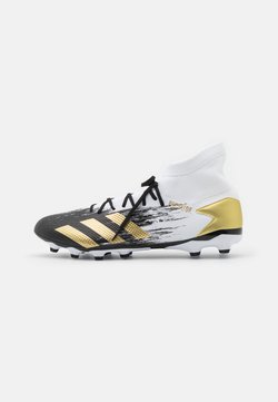adidas Performance - PREDATOR 20.3 FOOTBALL BOOTS MULTI GROUND - Fußballschuh Nocken - footwear white/gold metallic/core black