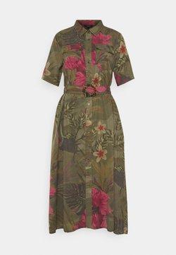 Desigual - VEST ANGELA - Sukienka koszulowa - green