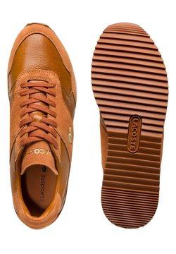 Lacoste Sport - Sneaker low - brw/lt brw