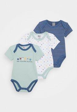 Jacky Baby - KURZARM 3 PACK - Body - blue/white