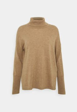 pure cashmere - TURTLENECK - Strickpullover - beige