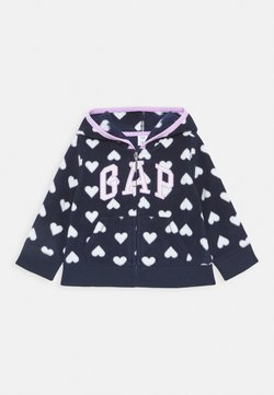 GAP - TODDLER GIRL LOGO - Veste polaire - navy uniform