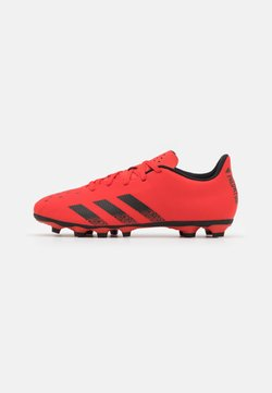 adidas Performance - PREDATOR FREAK .4 FXG - Botas de fútbol con tacos - red/core black
