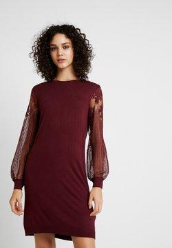 ONLY - ONLVIKTORIA DRESS - Robe pull - tawny port