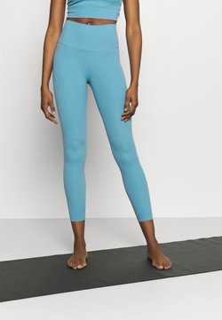 Nike Performance - THE YOGA LUXE 7/8 - Tights - cerulean/light armory blue
