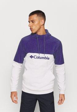 Columbia - LODGEII HOODIE - Huppari - nimbus grey heather/purple quartz