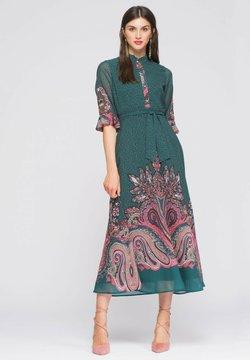 NIZA - Vestido camisero - verde
