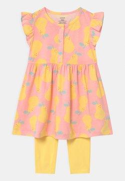 Carter's - PEAR - Leggings - Hosen - light pink/yellow