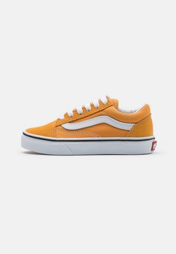 Vans - OLD SKOOL UNISEX - Sneaker low - golden nugget/true white