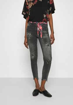 Desigual - BOW - Slim fit jeans - denim black
