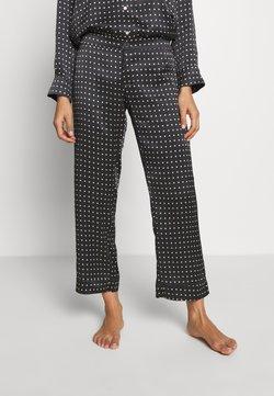 ASCENO - THE ANTIBES - Pyjama bottoms - black