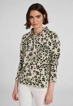 Oui - IM ANGESAGTEM PRINT - Sweatshirt - light grey green
