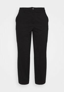 Selected Femme Curve - SLFNORI - Spodnie materiałowe - black